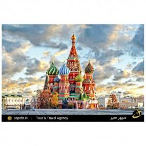 جاذبههای گردشگری مسکو با سپهر 360